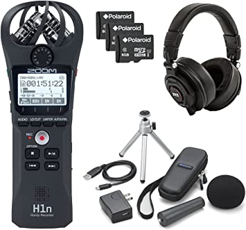 Amazon Com Zoom H1n Handy Digital Recorder W Accessory Kit And A