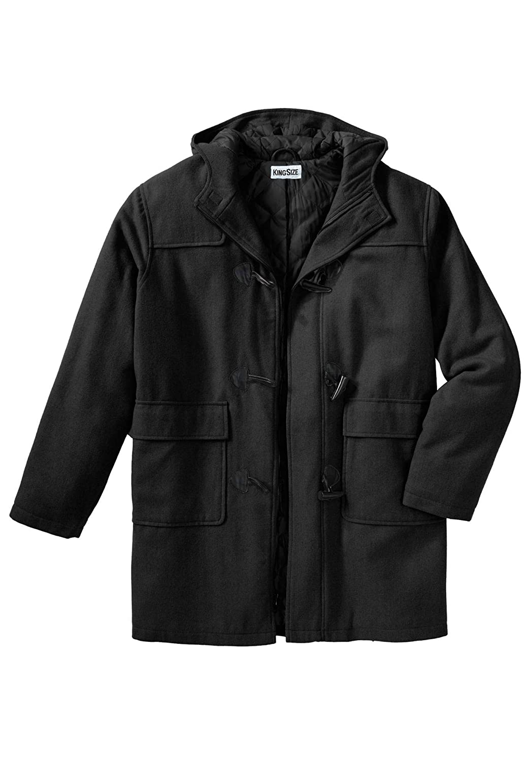 KingSize Men's Big & Tall Toggle Parka Coat