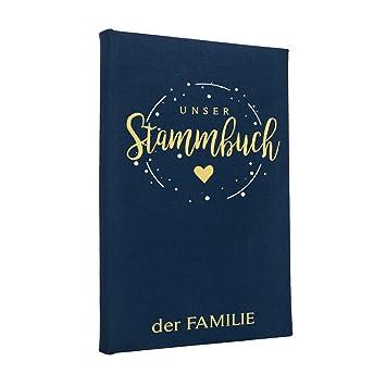 Hochzeitideal Stammbuch der Familie Corella Farbe Einband dunkelblau ...