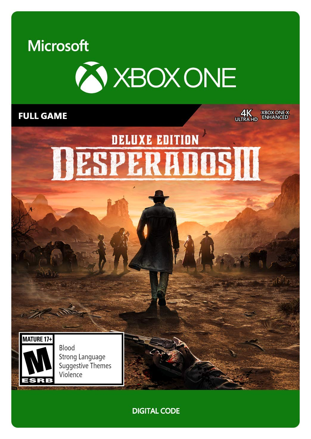 Amazon Com Desperados Iii Deluxe Edition Xbox One Digital Code Video Games