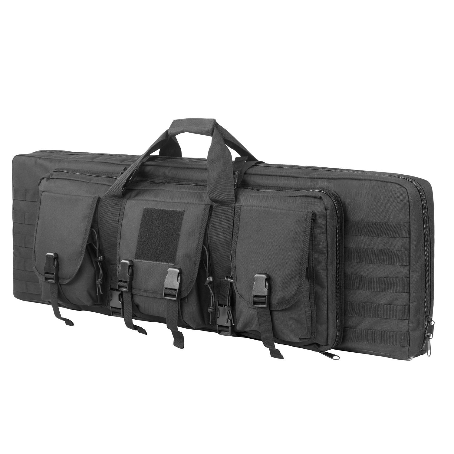 ARMYCAMOUSA 38 Inch Double Rifle Bag Outdoor Tactical Carbine Cases Water dust Resistant Long Gun Case Bag for Hunting Shooting Range Sports Storage and Transport by ARMYCAMOUSA