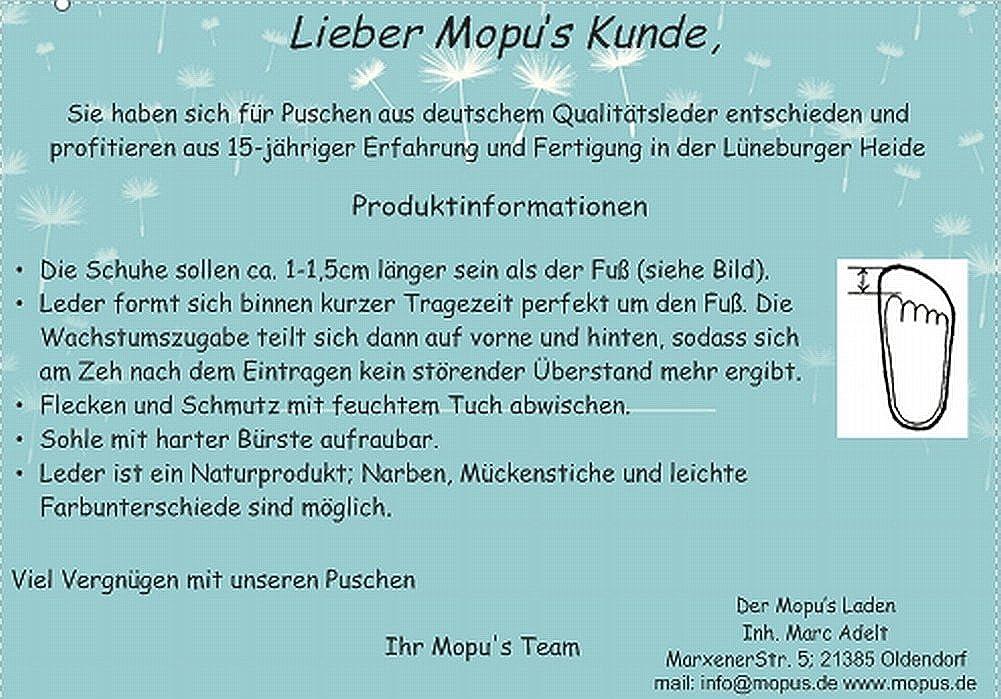 Mopu's® Krabbelschuhe - Lederpuschen in blau mit blauem Auto - handgemachte Markenqualität aus Deutschland j9sxzuVYz