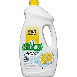 Palmolive 42706EA Dishwasher Detergent Gel, Eco, 75 oz, Lemon Splash Sct
