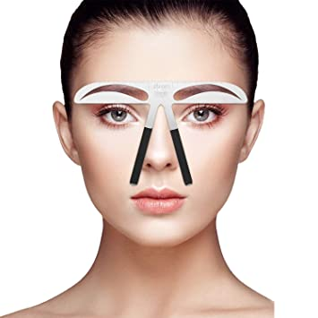 Tattoo & Body Art 10 Pcs U Type Plastic Standard Eyebrow Tattoo Stencils Permanent Makeup Eyebrow Ruler Used Beginner Pink Fixing Prices According To Quality Of Products