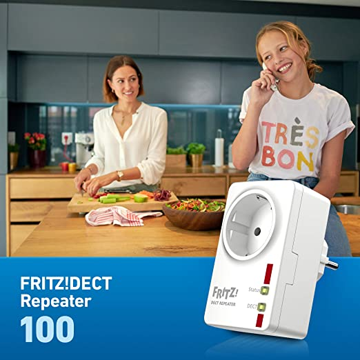 Avm Fritz Dect Repeater 100 Deutschsprachige Version Computer Zubehör