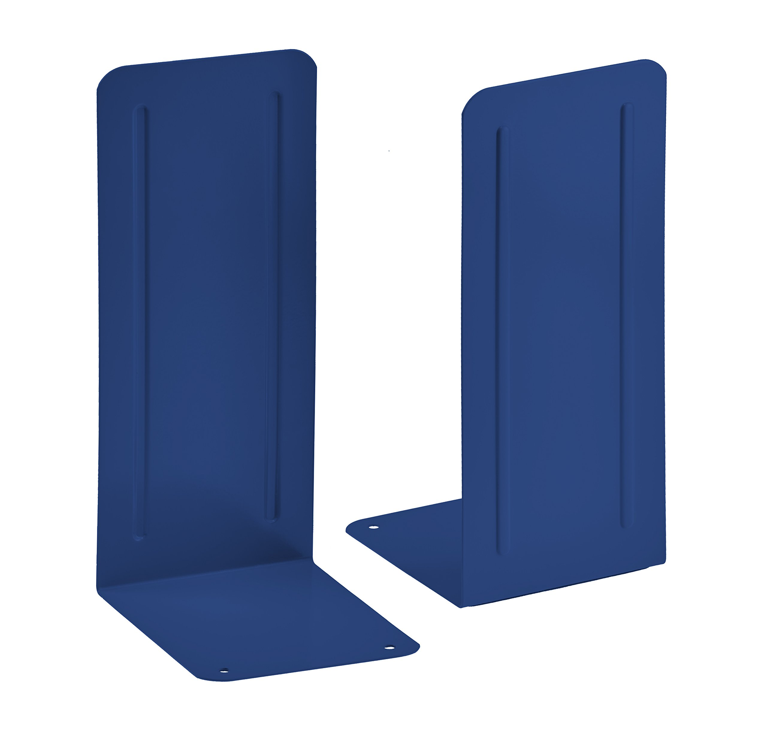 Acrimet Jumbo Premium Bookends 9'' (Deep Blue Color) (1 Pair)