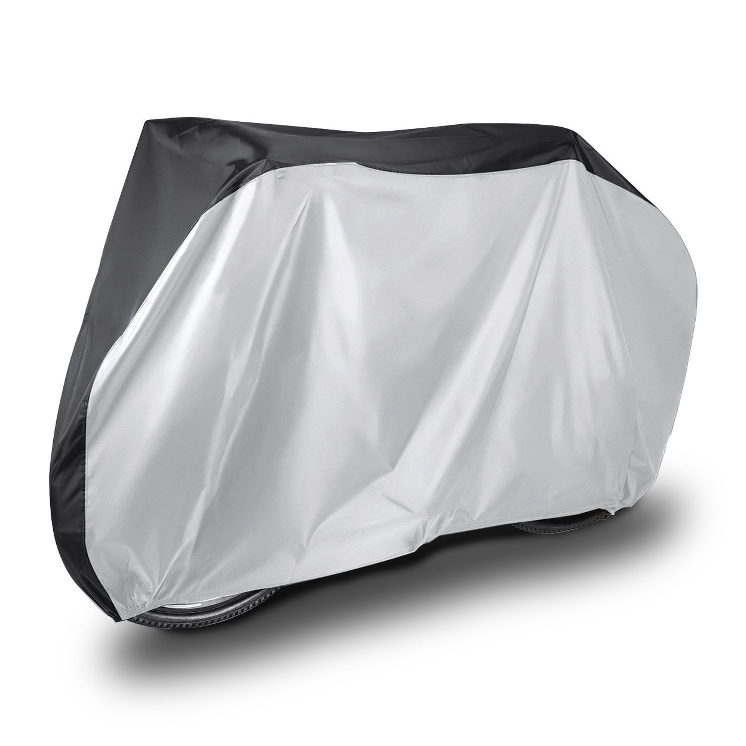 Ruiye Bicycle Cover Waterproof Outdoor, Outside Storage for Bikes, 190T Nylon Heavy Duty All Weather Bike Covers for Mountain, 26er, Road, Hybrid Bikes,Mountain Bikes,Cycling Bike,Scooters