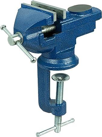 Tornillo de banco 70 mm con función de giro de tornillo de banco ...