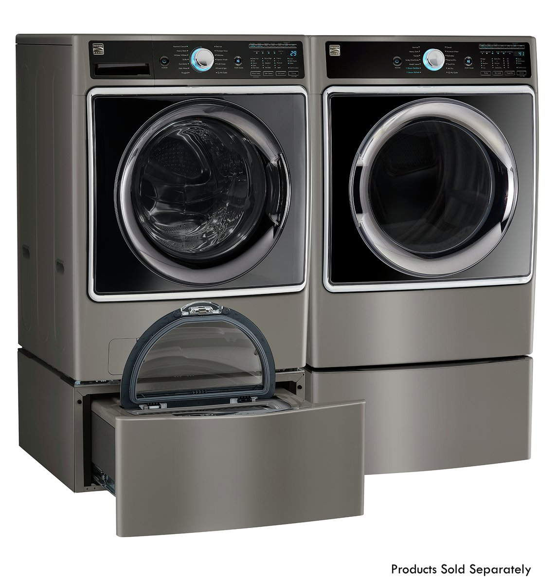 Electric Dryer with Wrinkle Guard in White -Works with Alexa includes delivery and hookup Kenmore 62332 7.0 cu ft
