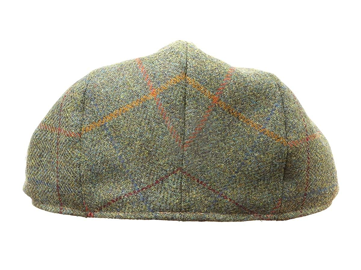 69227a883cb40 Hand Tailored Tweed Garforth Flat Cap Derwent Green Made in Britain   Amazon.co.uk  Clothing