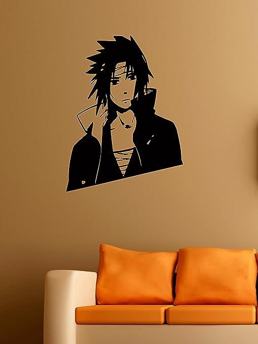 Amazon.com: Uchiha Sasuke Vinyl Wall Decals Anime Naruto ...