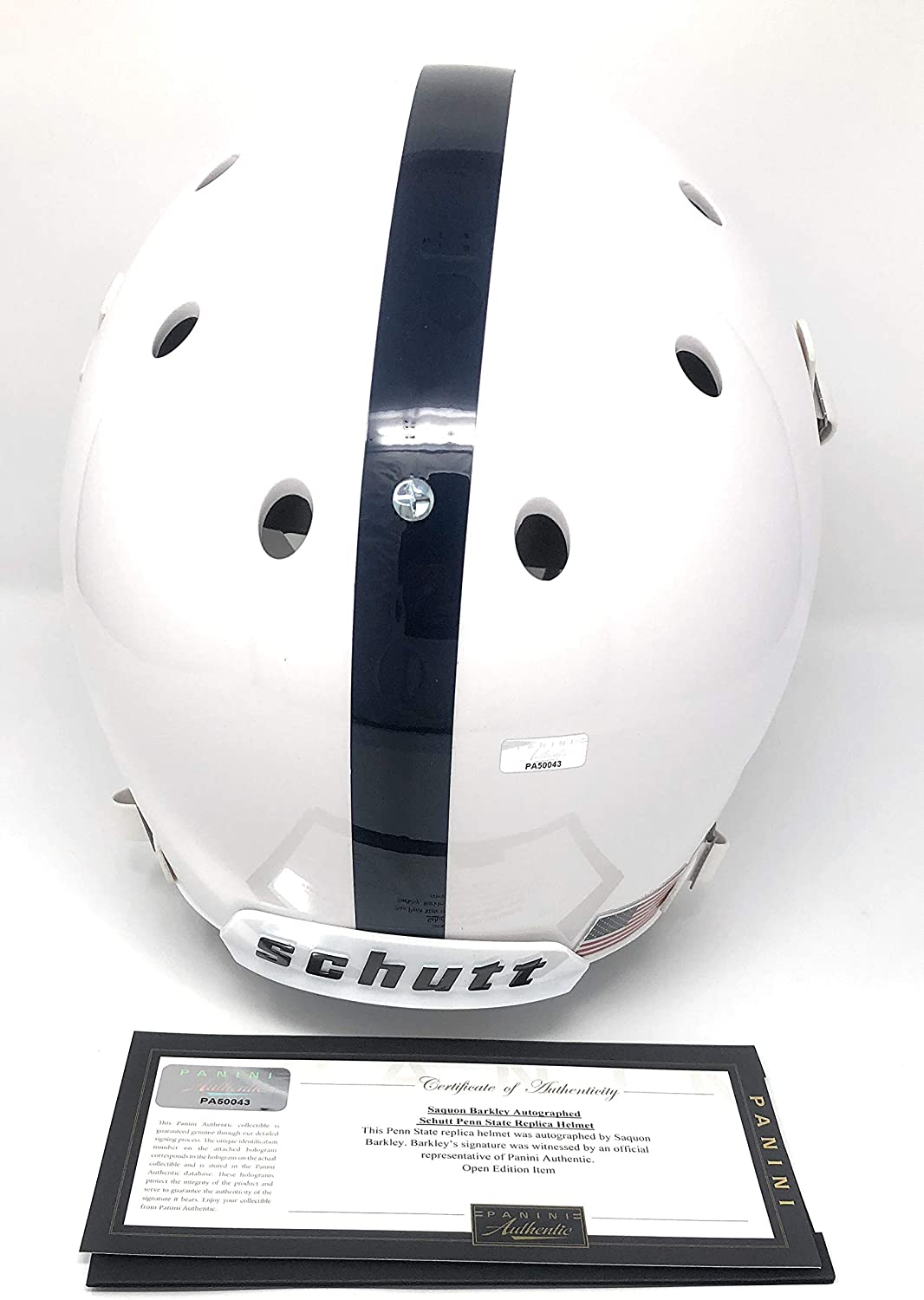 Saquon Barkley Penn State Nittany Lions Signed Autograph Full Size Helmet Panini Authentic Certified