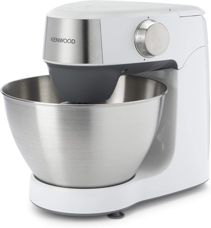 Kenwood Prospero+ KHC29.H0WH - Robot de Cocina (3 herramientas de bol, batidora de vaso de cristal 1.5L, procesador de alimentos 1.4L y tres discos, exprimidor) Blanco