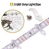 5050 4 Pin Led Strip Connector Kit, 10mm RGB LED
