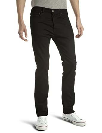 cb9bd08f Lee Men's Macky Tapered Jeans, Clean Black, W30/L32: Amazon.co.uk ...