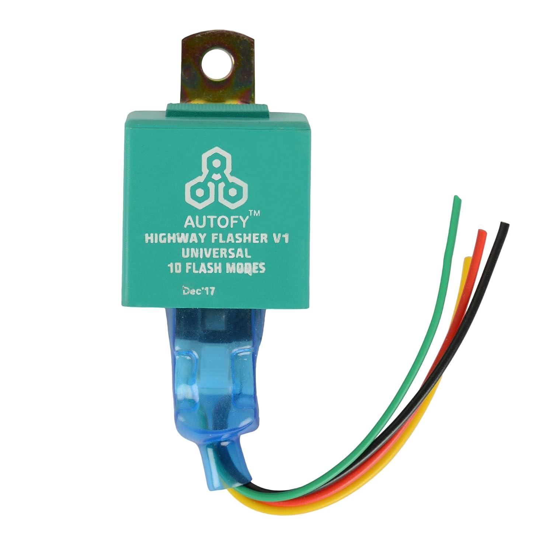 Autofy Universal Highway Indicator Flasher / Auxiliary or Fog Light ...