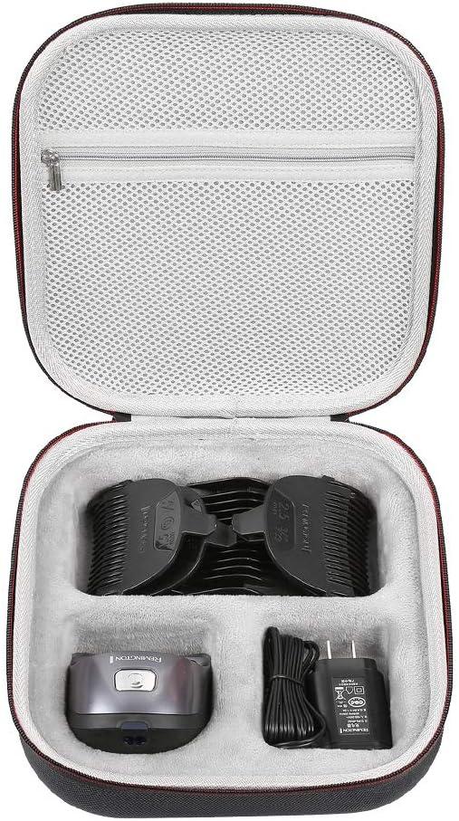 LuckyNV duro EVA viaje Estuche compatible con Remington HC4250 Shortcut Pro Self-Haircut Kit Recortadora de pelo barba recortadora