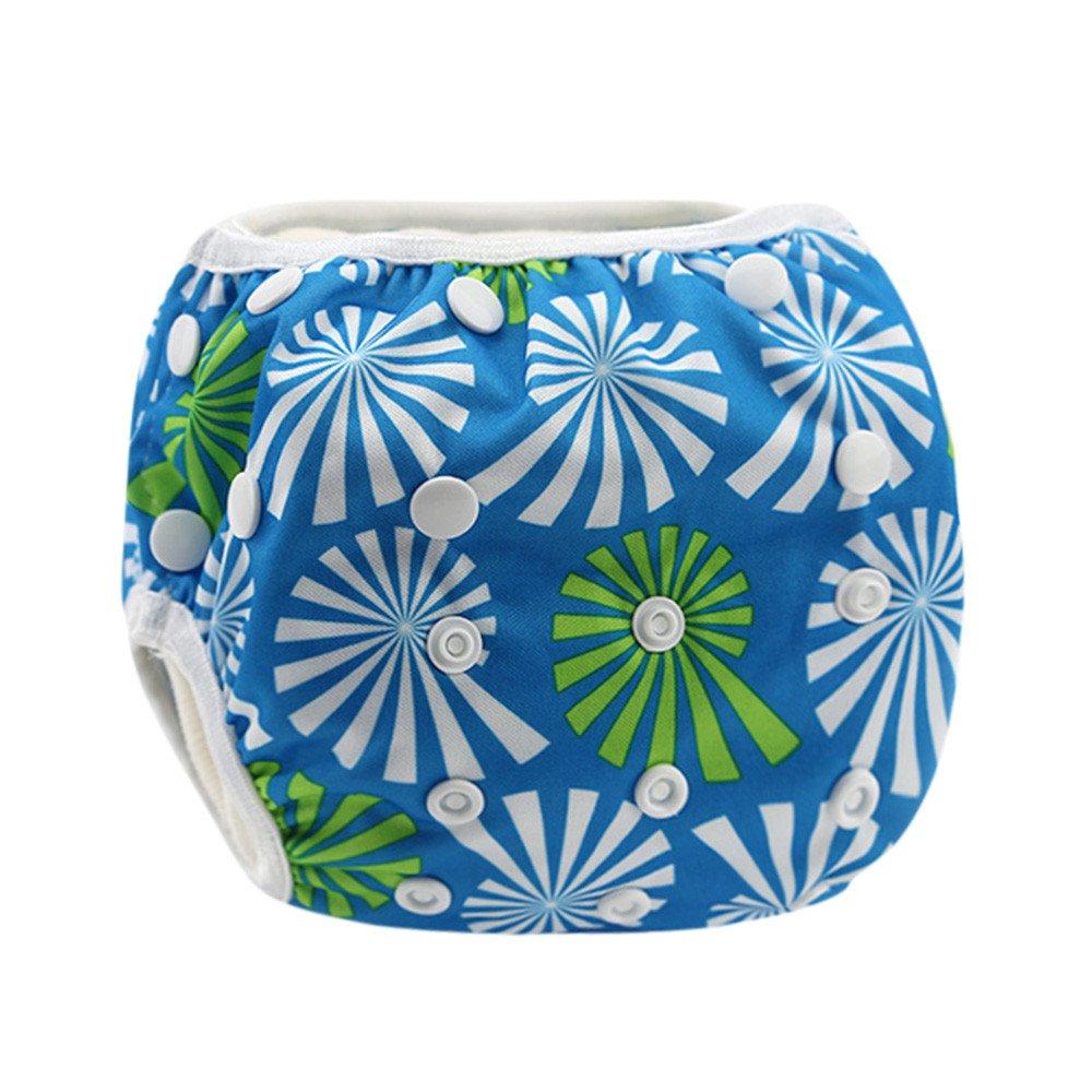 Winsummer Baby Adjustable Reusable Swim Diaper Waterproof Swim Wear for Baby /& Newborn