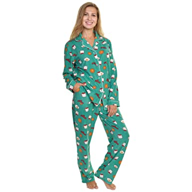 4b2ff71554 Angelina Cozy Fleece Pajama Set at Amazon Women s Clothing store