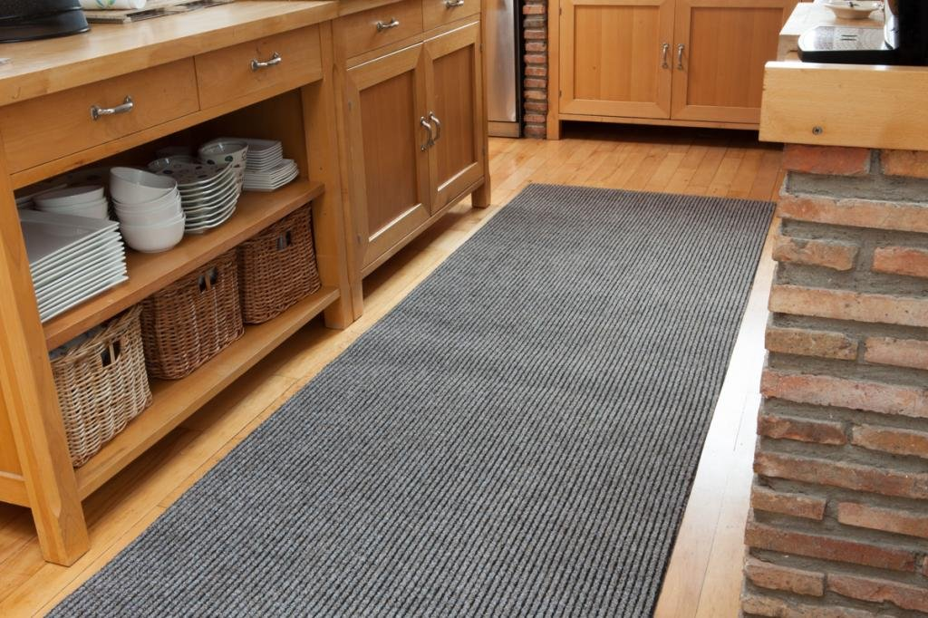 Hardwearing Runner Mat 1m Wide Beige - Any Length up to 20 Metres - SOLD BY THE METRE The Rug House