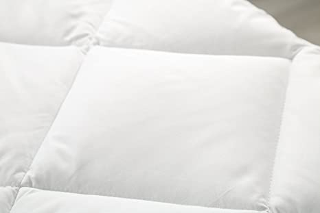 Cubrecolchones, Protector de colchón - Blanco 90 x 200 cm - Utopia bedding: Amazon.es: Hogar