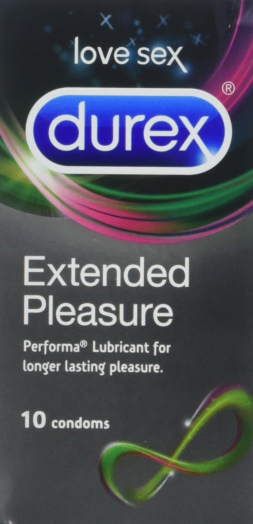 Durex Condom - Extended Pleasure (10s)