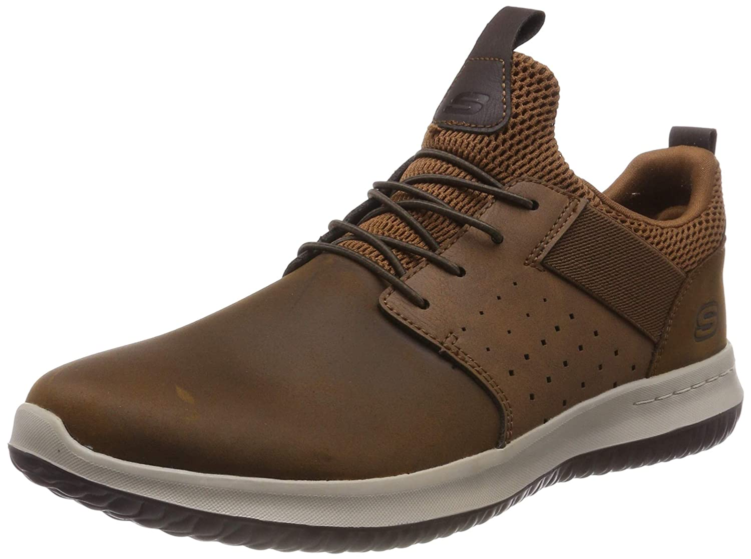 Skechers Men's Delson- Axton Slip On Trainers