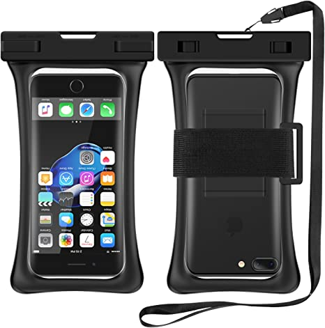 RANVOO [Floating Waterproof Phone Pouch, Dry Bag Case for iPhone ...