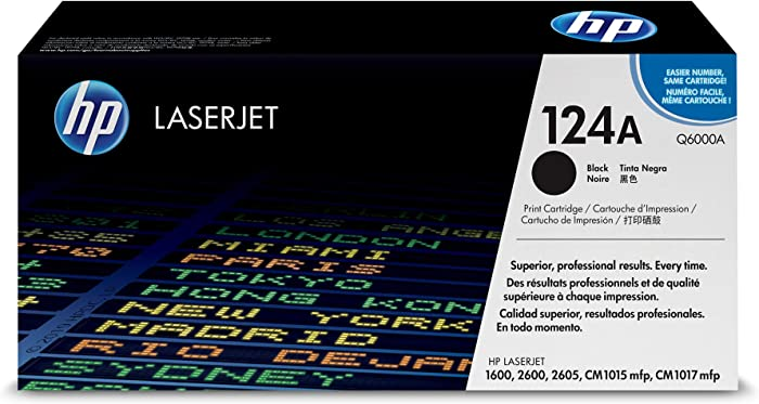 HP 124A | Q6000A | Toner Cartridge | Black