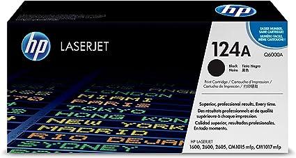 Set 4 Genuine New HP 1600 2600 124a Toner Cartridge Q6000A Q6001A Q6002A Q6003A