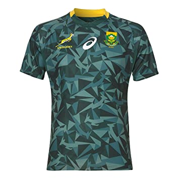 00eb8890126 South Africa Blitzboks 7s Fan Home Jersey 17/18: Amazon.co.uk: Sports &  Outdoors