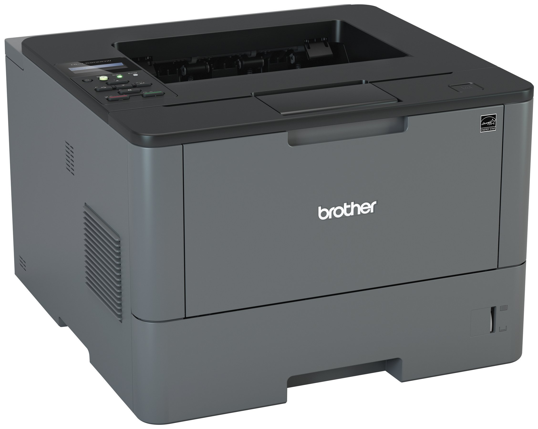 Brother HL-L5200DW Business Laser Printer with Wireless Networking and Duplex, Amazon Dash Replenishment Enabled by Brother (Image #5)