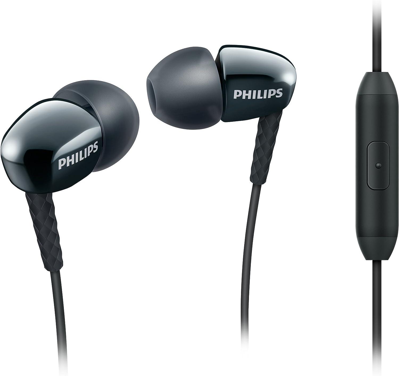 Philips She3905bk 00 In Ear Kopfhörer Mit Mikrofon Elektronik