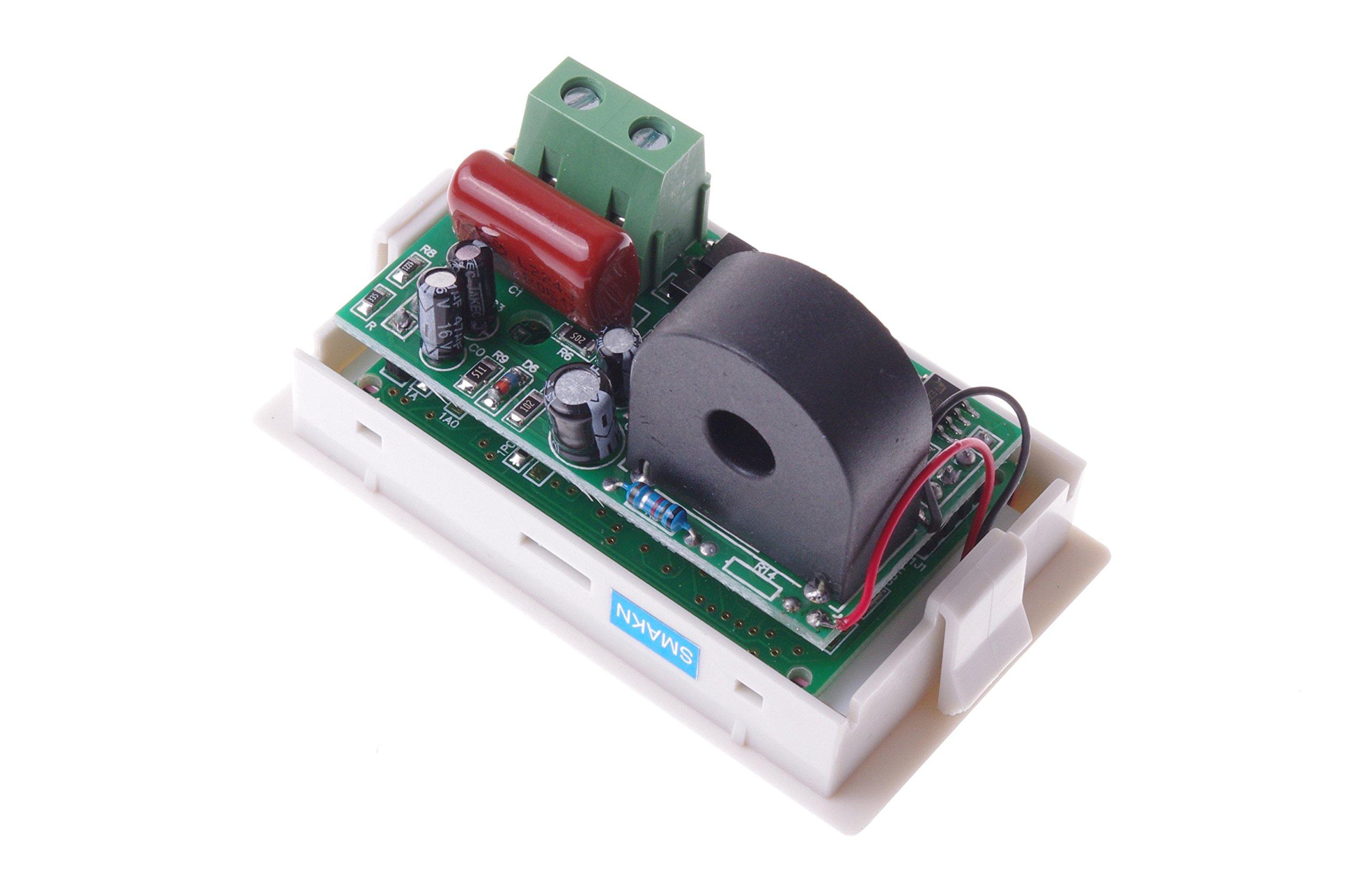 SMAKN AC 200-500V/50A Digital LCD Display Voltmeter Amperemeter Volt Gauge+Current Measure Sense Resistor by SMAKN (Image #3)