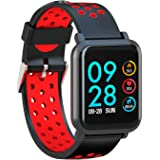 AQFIT Multifunction Smart Watch W8 (Red Black)