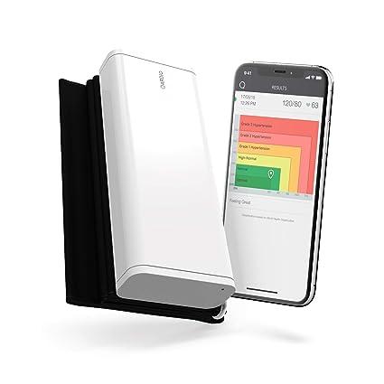 QardioArm -Tensiómetro Inalámbrico para iOS y Android, Color Blanco Polar