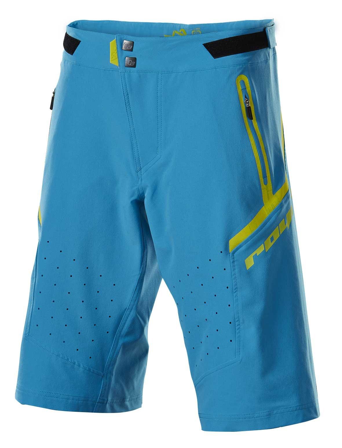Royal Racing Impact Shorts, Electric Blue/Midori Citric Acid, X-Large