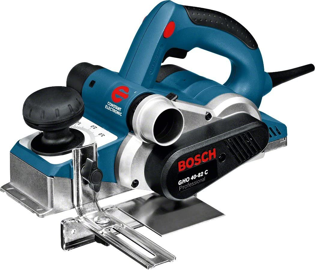 Bosch Professional GHO 40-82 C - Cepillo (850 W, rebaje 24 mm, en maletín)