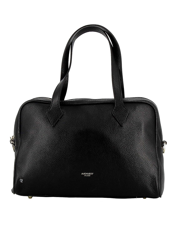 AVENUE 67 Damen AL111A002101 Schwarz Leder Handtaschen B07Q1DM3P4 Schultertaschen