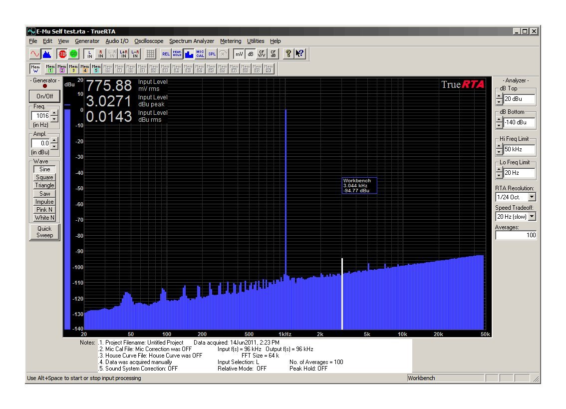 TrueRTA Audio Spectrum Analyzer for Windows PCs, Level 4 Registration Code, Single User License