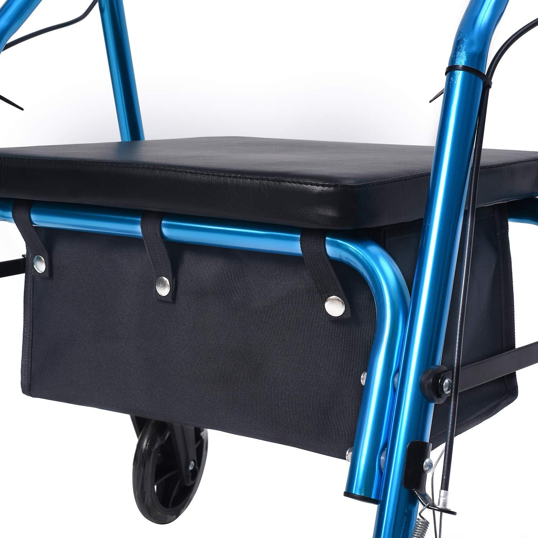 Amazon.com: Bolsa grande para andador debajo del asiento ...