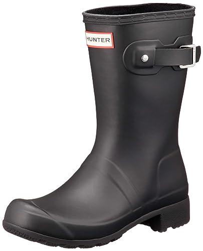 6b0cd9aa1 Hunter Women s Original Tour Short Black Shoe