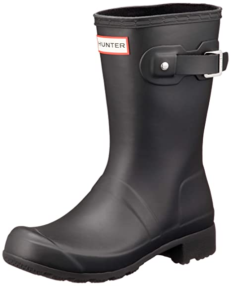 dad7ccd735f Hunter Women's Original Tour Short Mid-Calf Rubber Rain Boot