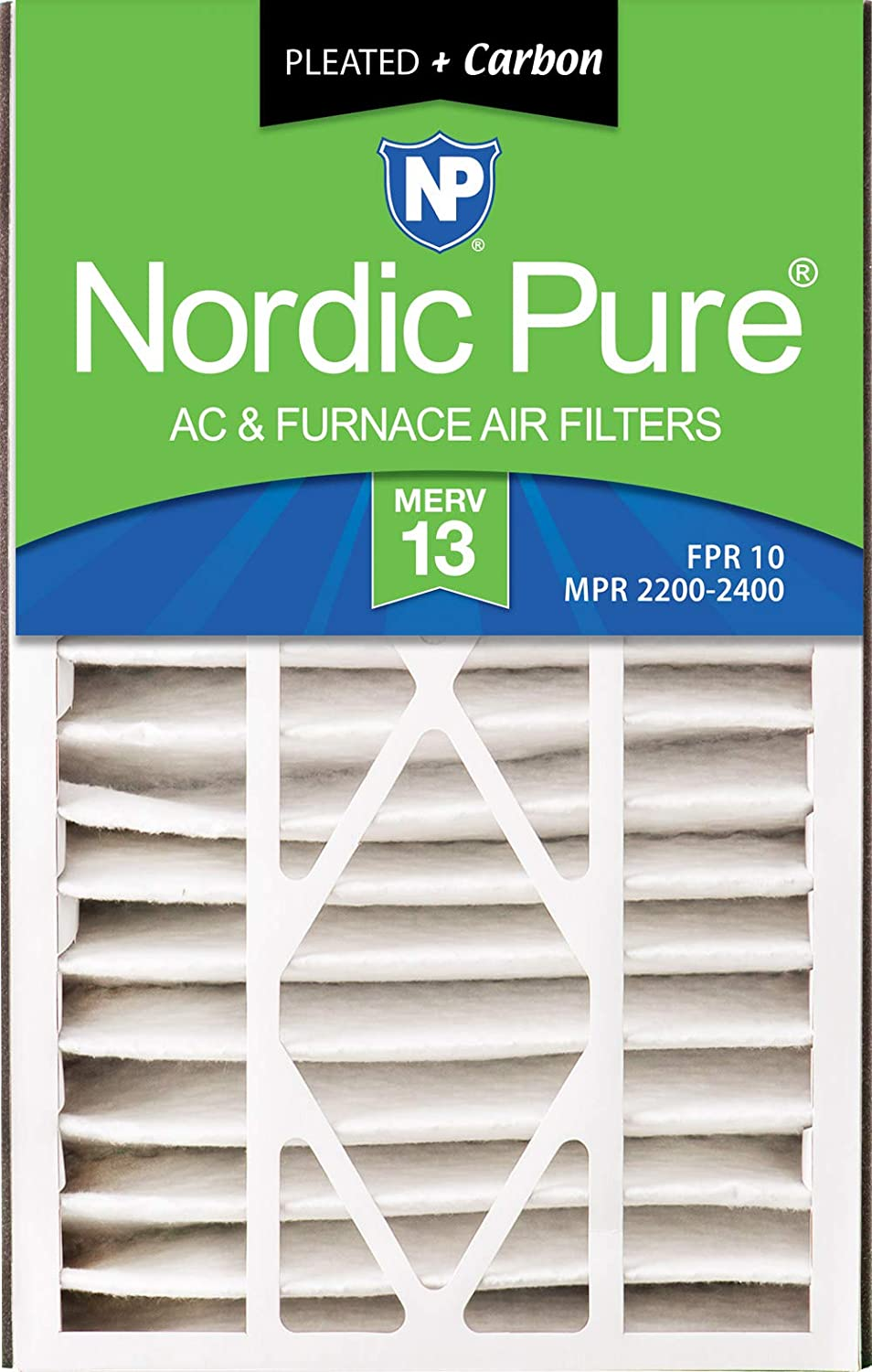 Nordic Pure 16x25x3 MERV 15 Trion Bear Cub 266649-101 Replacement Pleated AC Furnace Air Filter 7 Piece