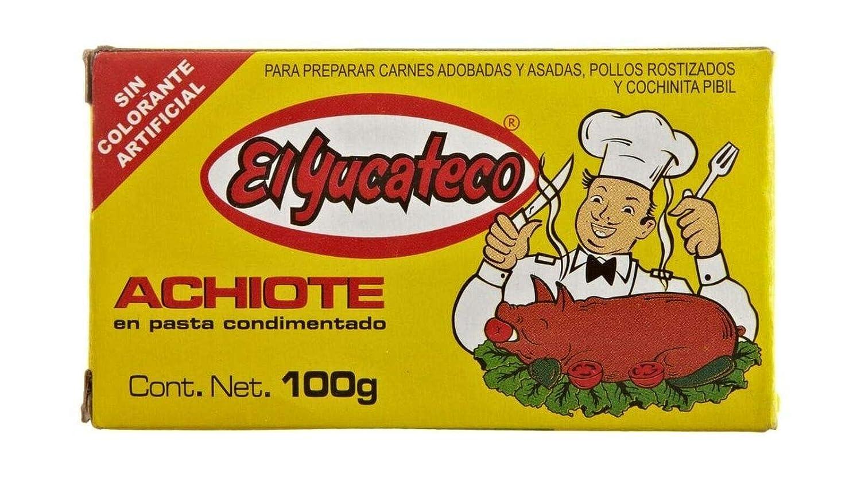 El Yucateco Paste Achiote, 3 5 oz