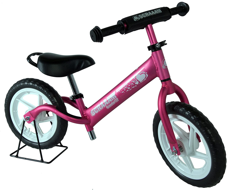 SCRAAAM Coaster GT Kids Lightweight Balance/Run Bike - Aluminum Frame.