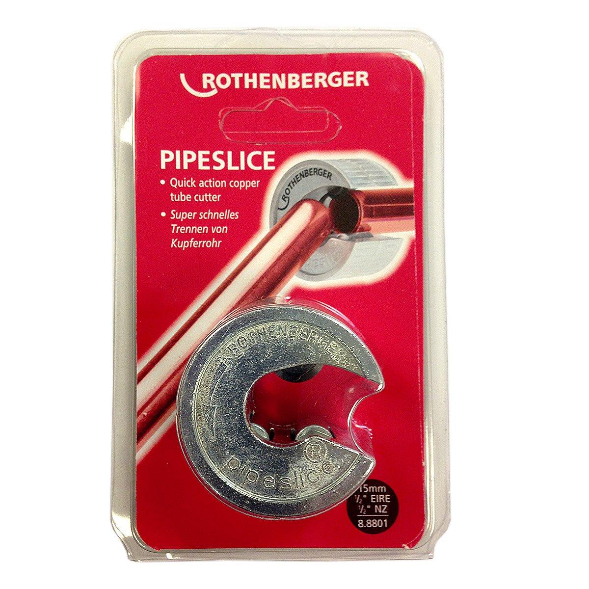 Rothenberger 88801 Pipeslice Coupe tuyau 15 mm Rothenberger UK