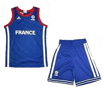 ADIDAS PERFORMANCE Mini Kit Enfant Basketball France FFBB