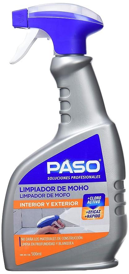 Paso Limpiador Moho, Hipoclorito de Sodio, Gris, 12.5x4x25.5 cm