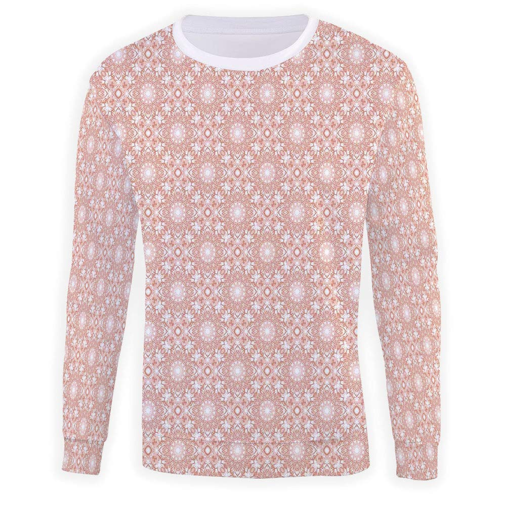 MOOCOM Mens Colorful Sweatshirt Pullover